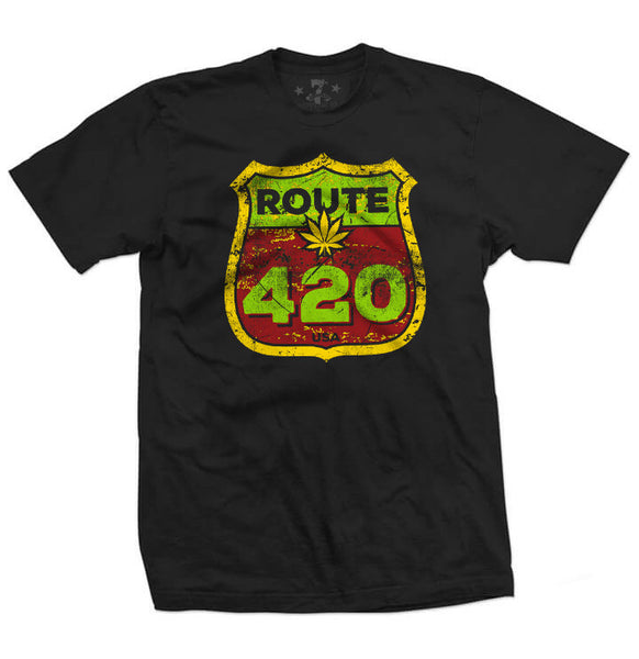 420 Route 420 tee
