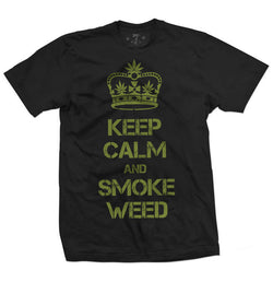 420 KeepCalm t-shirt-Men's tees-7threvolution.com