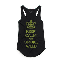 420 KeepCalm tank-Women's Tanktops-7threvolution.com