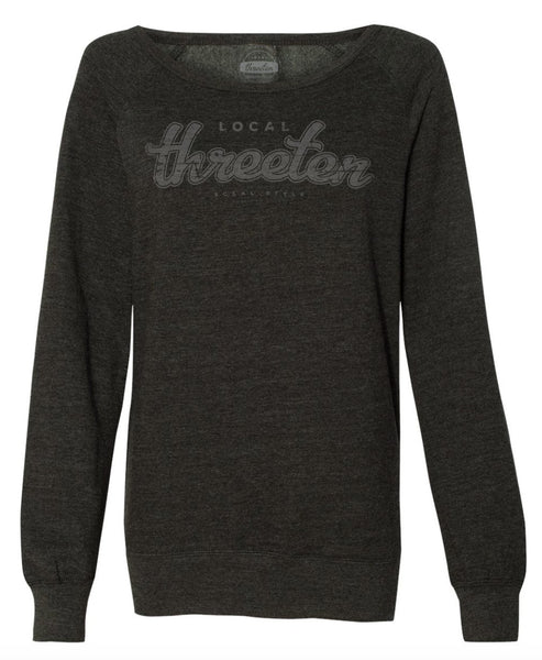 ArcBranded Open Neck Lightweight Sweatshirt-SWEATSHIRT-7threvolution.com