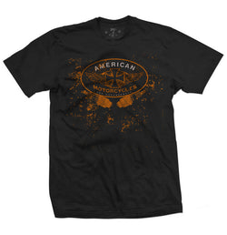 American Moto men's tee-Men's tees-7threvolution.com