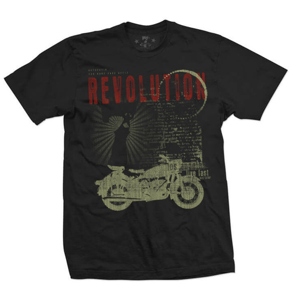 7th Revolution LiveFast men's tee