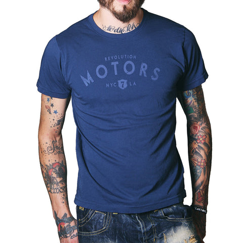 Revolution Motors men's tee-Men's tees-7threvolution.com