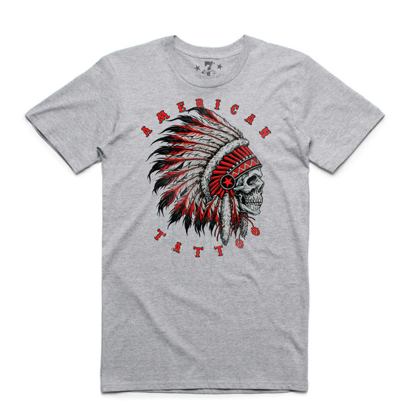 7th Revolution American Tattoo men's tee
