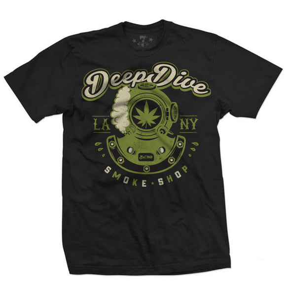 420 Deep Dive Smoke Shop-Men's tees-7threvolution.com