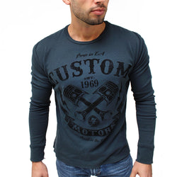 Custom Motors Thermal-Men's Tops-7threvolution.com