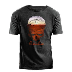 Venice Skull Vintage-Wash Short Sleeve T-Shirt-mens t-shirt-7threvolution.com