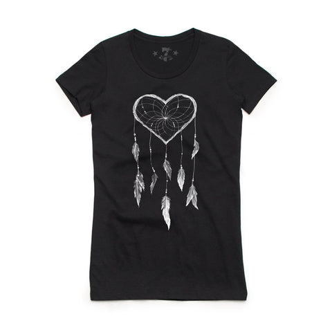 Dream Heart tee-Women's tees-7threvolution.com