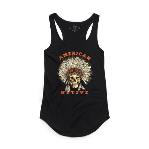 American Native tank-Women's Tanktops-7threvolution.com