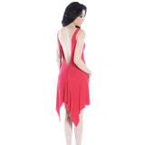 Red Rocker dress-Dresses-7threvolution.com