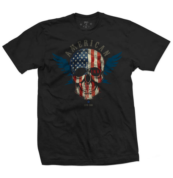 American Ink men's tee-Men's tees-7threvolution.com