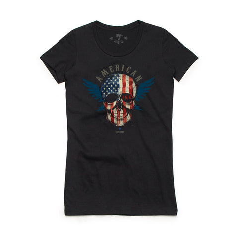 American Ink tee-Women's tees-7threvolution.com