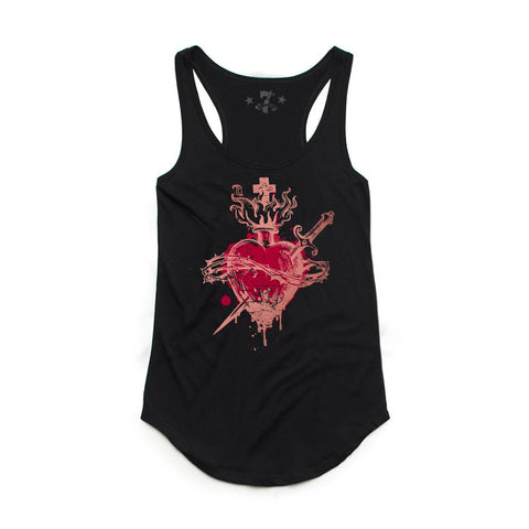Heartless tank-Women's Tanktops-7threvolution.com