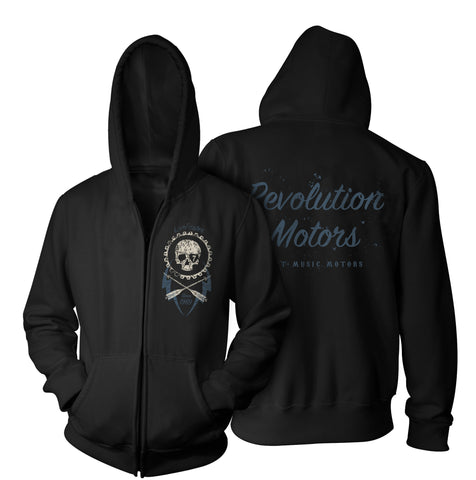 Live Faster zip hoodie-Hoodies-7threvolution.com