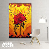 Red Bloom-Art-7threvolution.com
