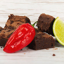 Double Chocolate Letterbox Brownie with Chilli, Lime & Sea Salt