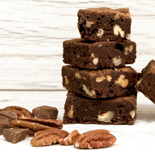 Double Chocolate Pecan Letterbox Brownie