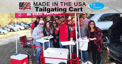 Large Tailgating Cart | In Action