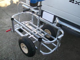 Caddy for Reels on Wheels™ Carts - Mill Aluminum