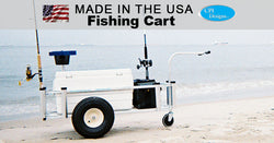 Large Fishing Cart | In Action