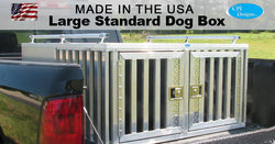 Large Dog Box Standard Double Door 48x48x24