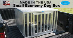 Small Single Door Economy Dog Box 35x36x24