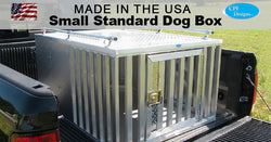 Small Standard Single Door Dog Box 36x48x24