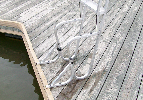 Dock Ladder Swing Out Kit