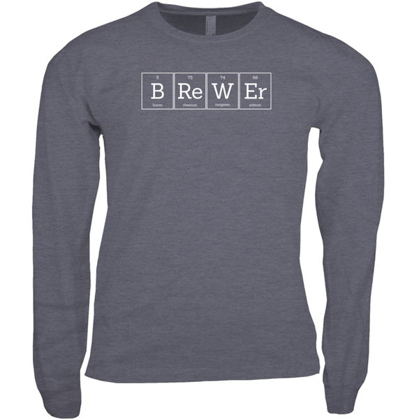 Beeriodic Table of Elements Brewer Long Sleeve