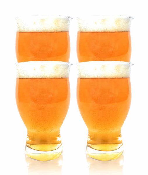 4 Pack of Blank Nucleated Ultimate Pint Glasses