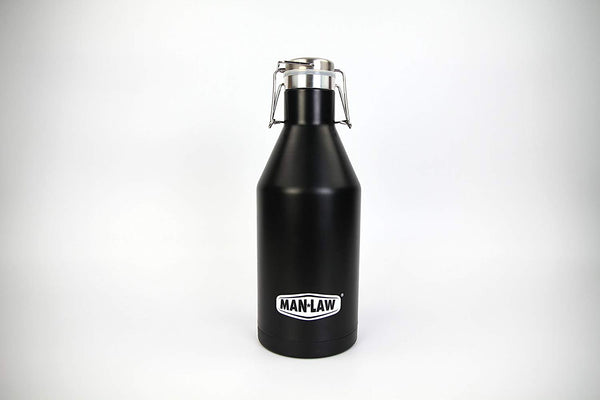 Man Law 67oz Stainless Steel Double Wall Growler