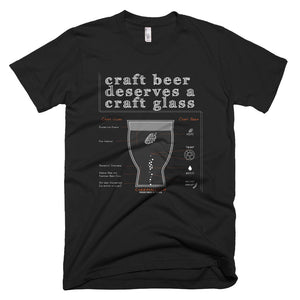 Craft Beer Deserves a Craft Glass - Ultimate Pint T-Shirt