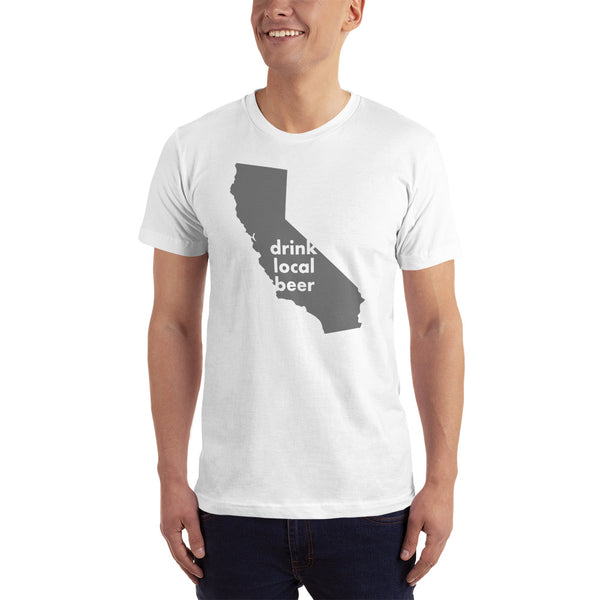 California Drink Local Beer - Short-Sleeve T-Shirt