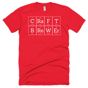Craft Brewer Scientific Shirt - Anyone who brews with their hands is a craft brewer.