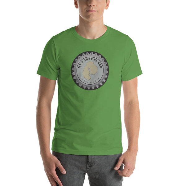 My Hoppy Place Bottle Cap Tee - Mount Dessert Island Maine