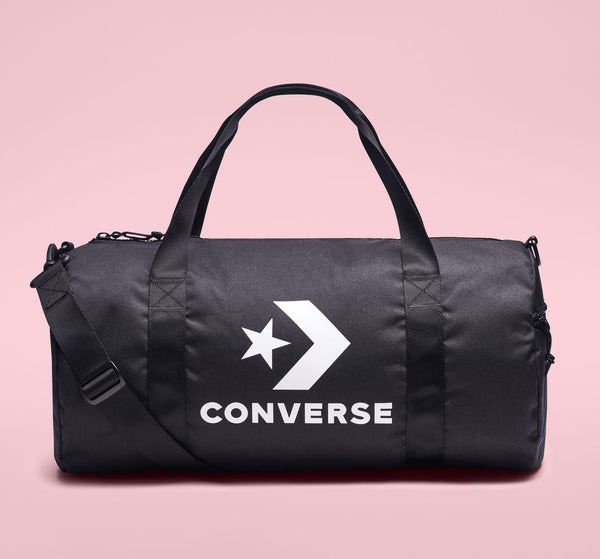 Converse Unisex Sports Duffel Bag Black