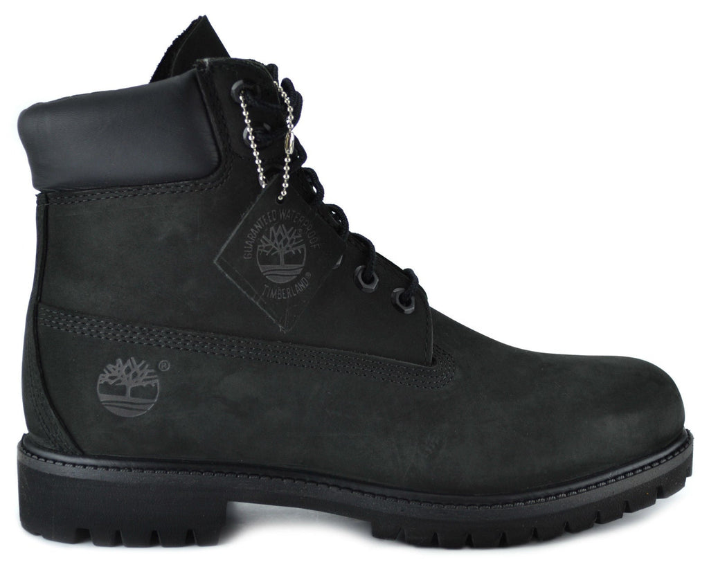 Timberland Men's 6-Inch(Wide Width) Basic Waterproof Boots Black