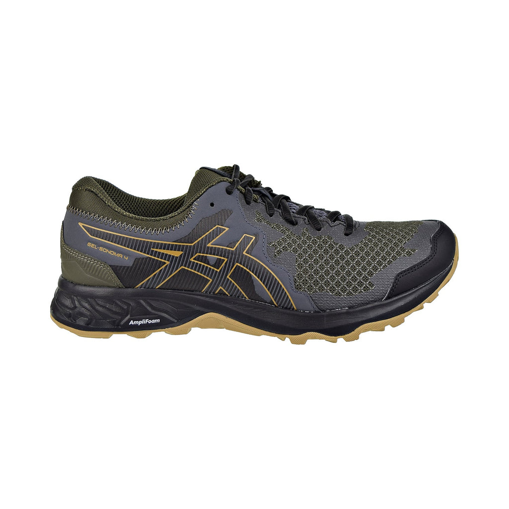 Asics Gel-Sonoma 4 Men's Shoes Olive Canvas/Black