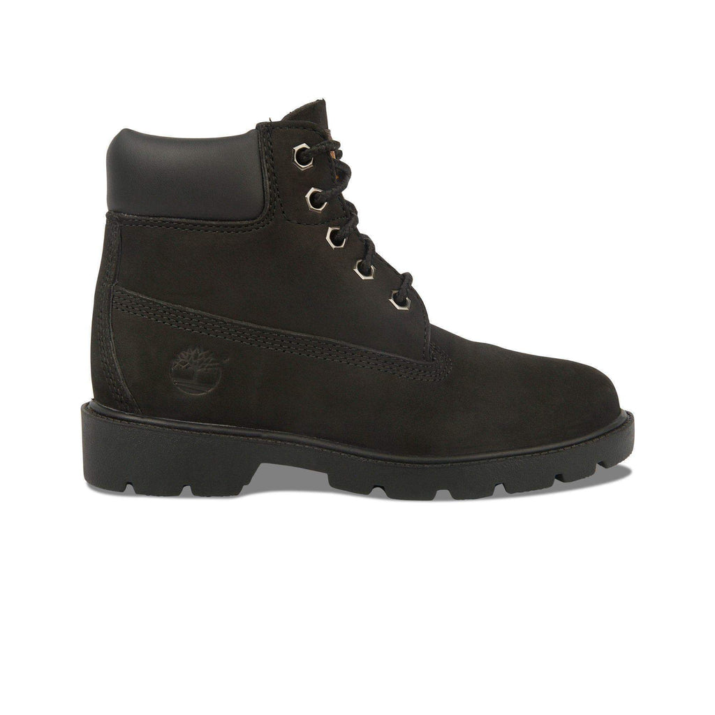 Timberland 6 Inch Premium Pre-School Boots Black