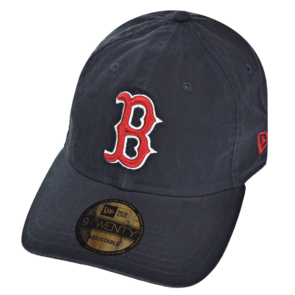 New Era Boston Red Sox Core Classic TW Men's Strapback Hat Cap Navy Blue/Red