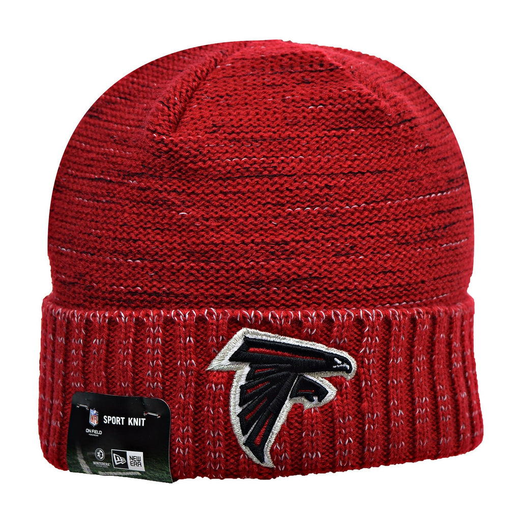 New Era Atlanta Falcons NFL 17 Knit Rush Men's Beanie Hat Cap Red/Black