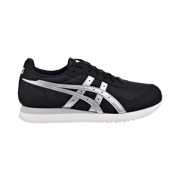 Asics Tiger Runner Womens Shoes Black/Silver