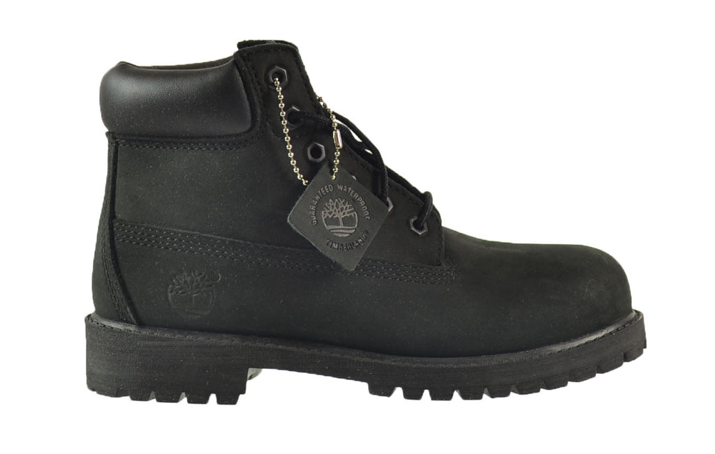 Timberland 6 Inch Premium Little Kids Boots Black