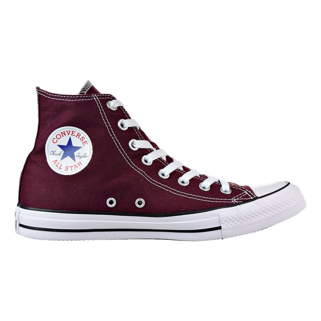 Converse Chuck Taylor Hi Mens Shoes Burgundy