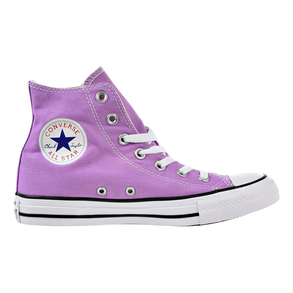 Converse Chuck Taylor All Star High Top Big Kid's Shoes Fuchsia Glow