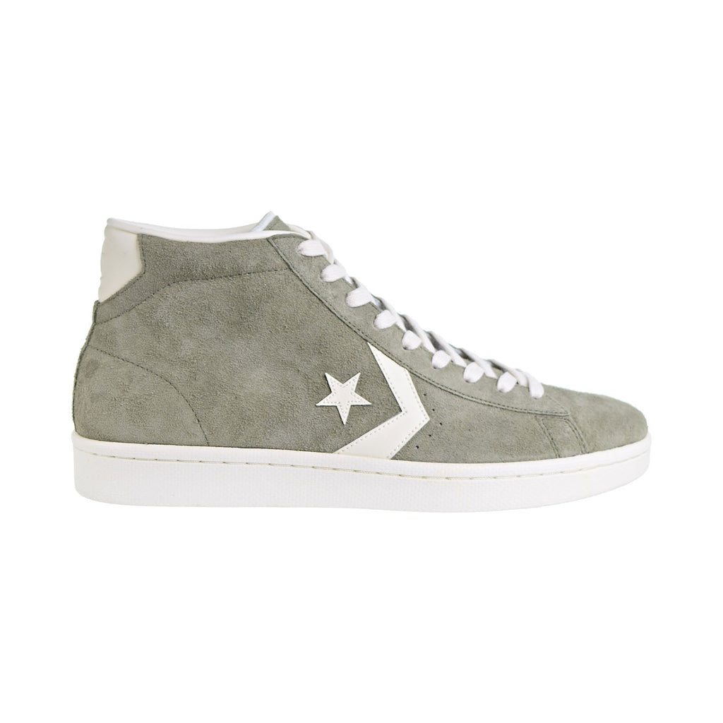 Converse Pro Leather Mid Men's Shoes Medium Olive/Egret