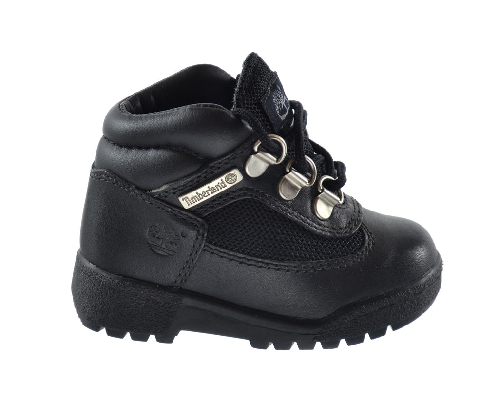 Timberland Baby Toddlers Field Boots Black