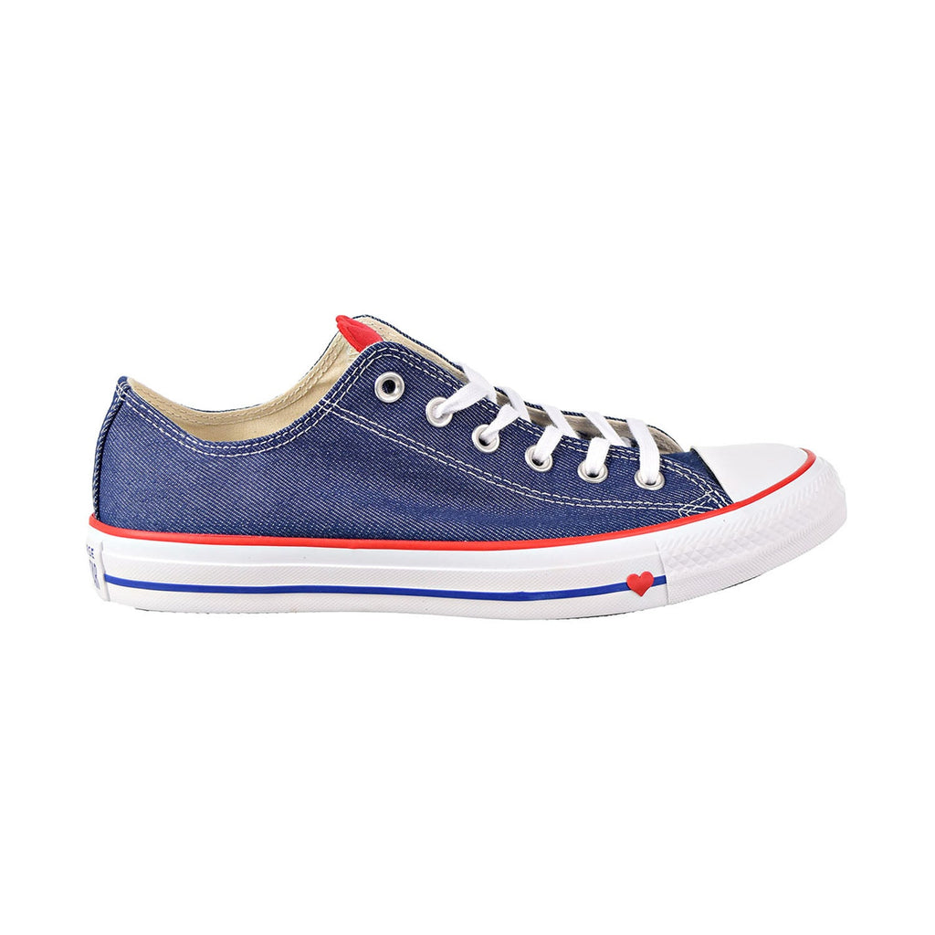 Converse Chuck Taylor All Star Ox Big Kids/Men's Shoes Indigo/Enamel Red/White