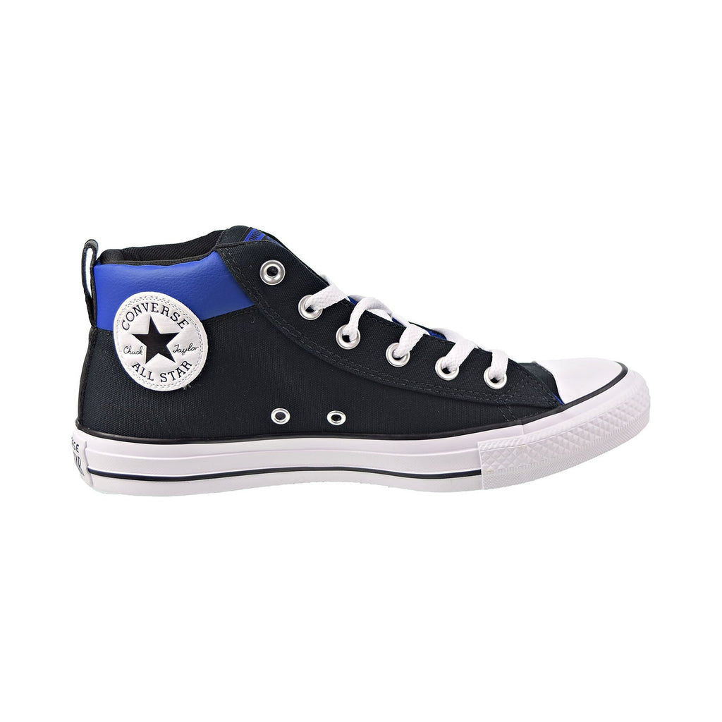 Converse Chuck Taylor All Star Street Mid Men's Shoes Black-White-Blue