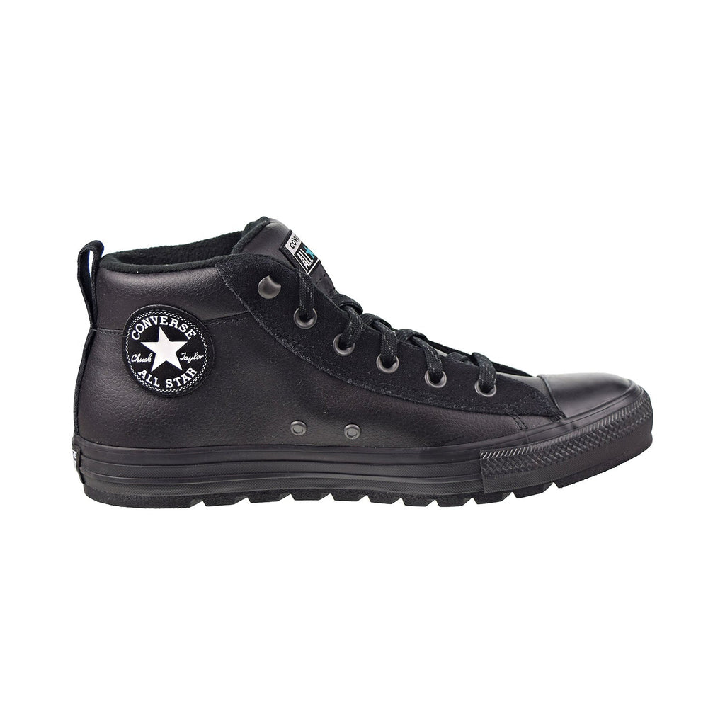 Converse Chuck Taylor All Star Street Mid Men's Shoes Black-White